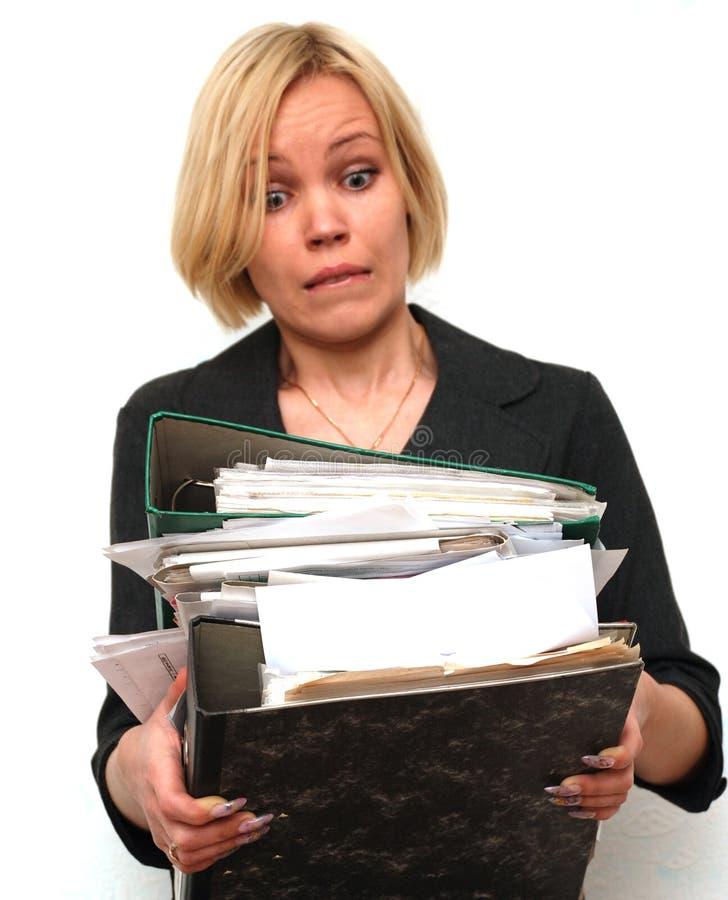 Download Oh travail de mains image stock. Image du businesswoman - 8653017