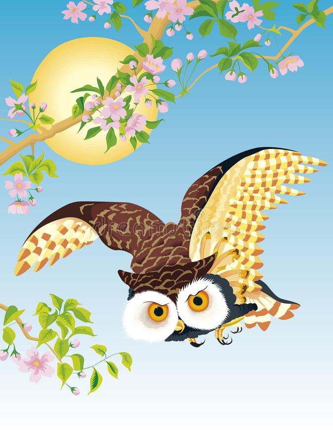 Owl Flying Stock Illustrations – 6,522 Owl Flying Stock ...