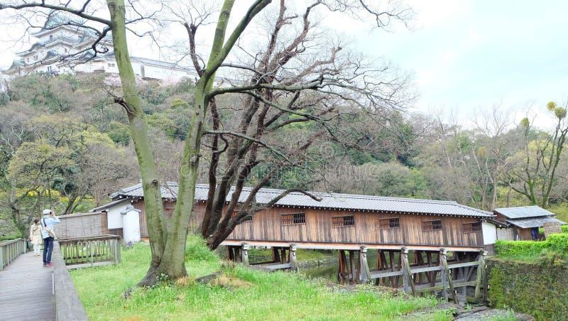 Ohashi Roka, castelo de Wakayama imagem de stock royalty free