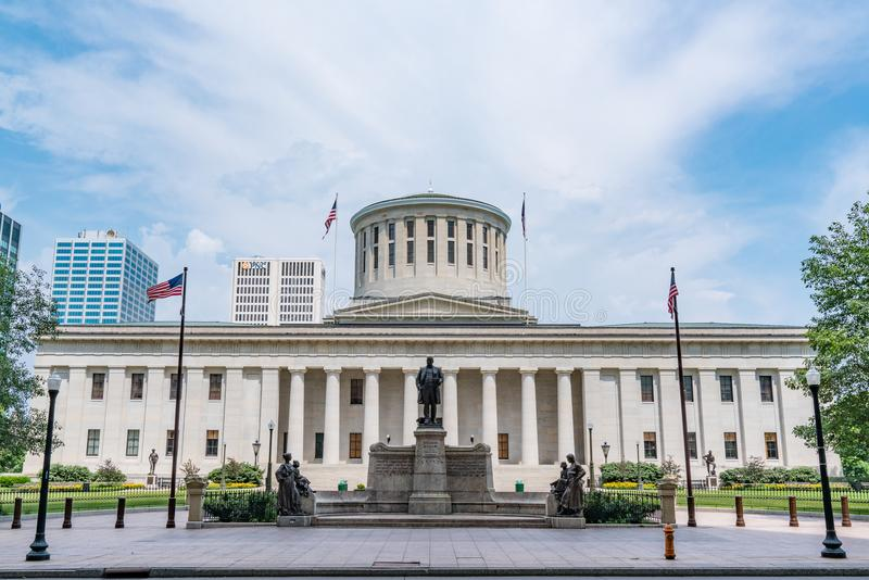 Ohio Kapitałowy budynek zdjęcie stock