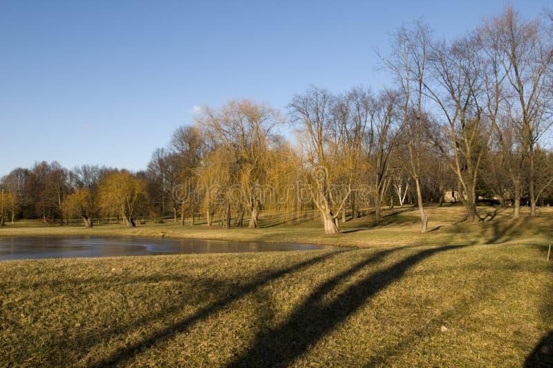 Ohio-Landschaft stockfotos