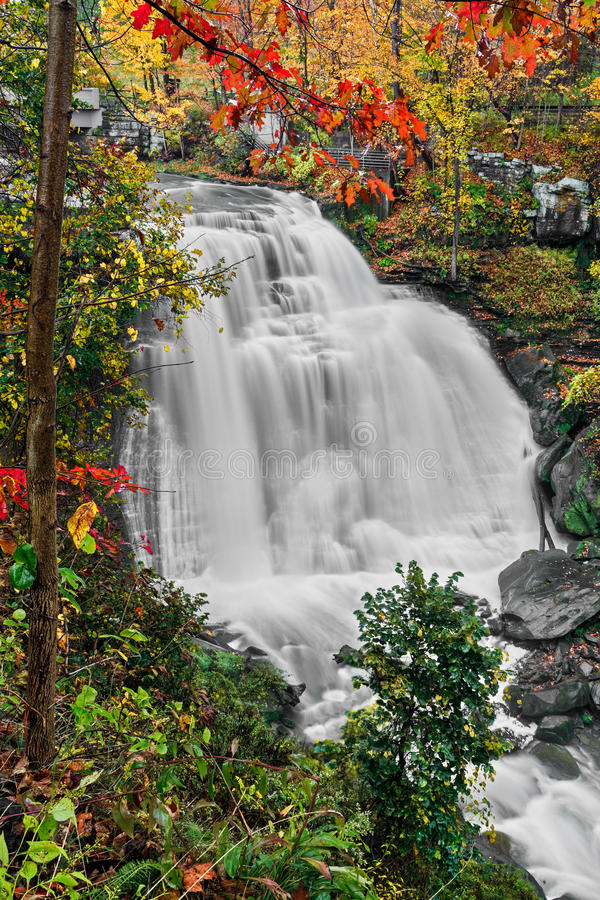 Ohio's Brandywine Falls stock images