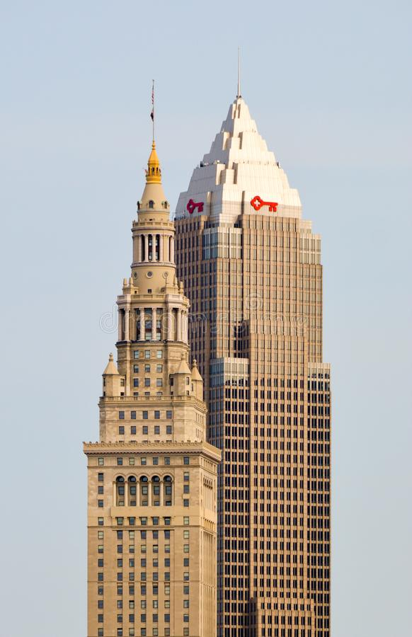 Ohio`s Tallest Buildings royalty free stock photo