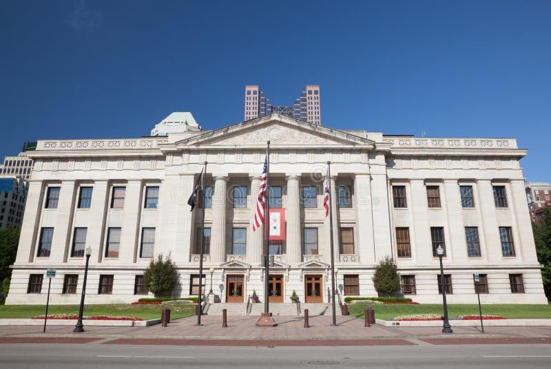 Ohio Stan Dom & Capitol Budynek zdjęcia stock