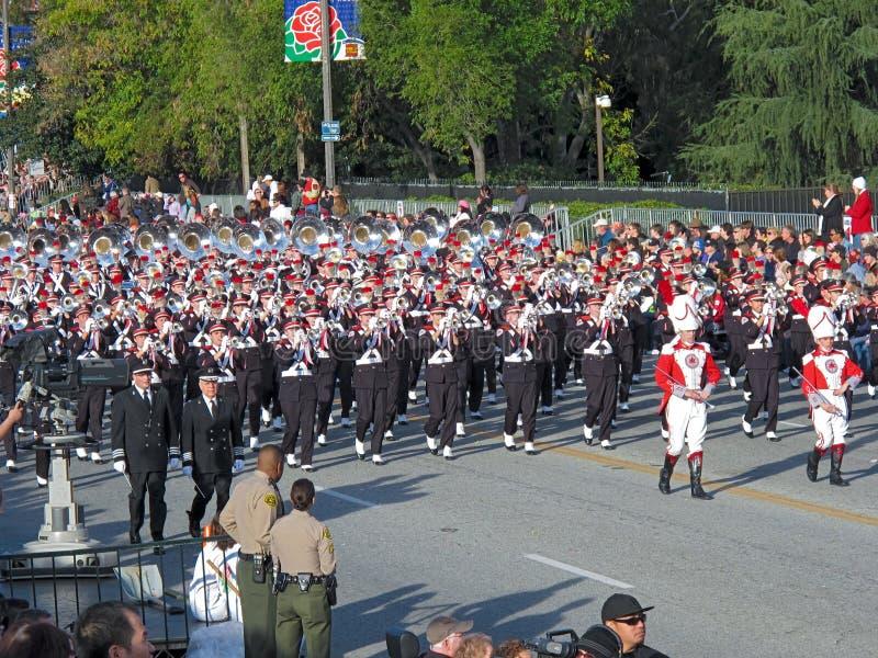 Ohio State University Marching Band royalty free stock photos