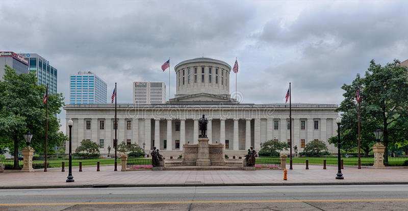 Ohio Statehouse royaltyfria bilder