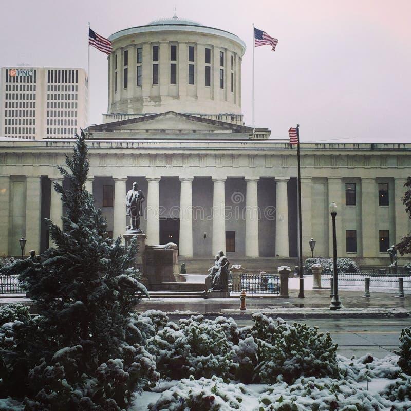 Ohio Statehouse royalty-vrije stock afbeeldingen