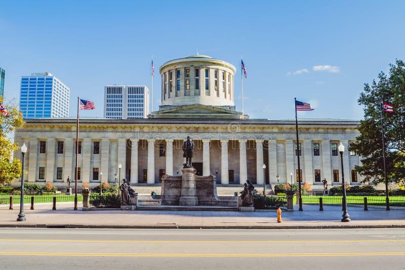 Ohio Statehouse, Columbus, Ohio royaltyfria foton