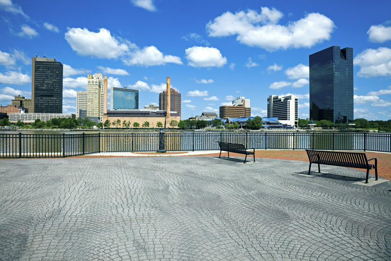 ohio Toledo zdjęcie stock
