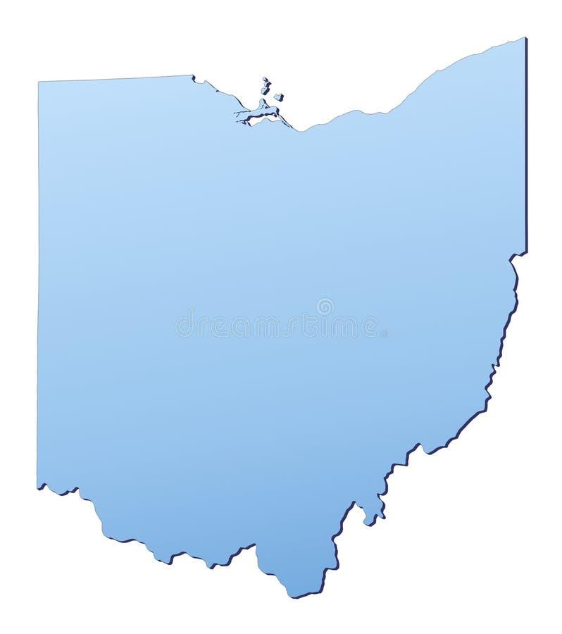 Download Ohio (USA) map stock illustration. Illustration of boundary - 4984534