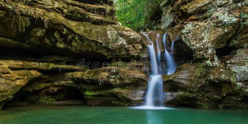 Ohio Waterfall royalty free stock photos