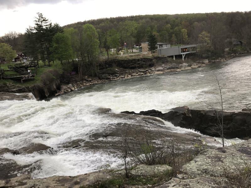 Ohiopyle-Wasserfälle stockfotos