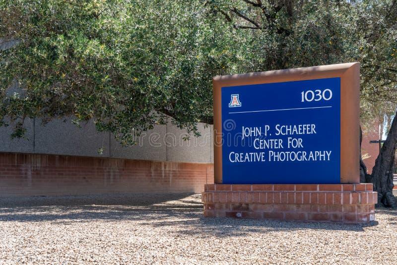 Ohn P Centro de Schaefer para la fotografía creativa en la Universidad de Arizona imagenes de archivo