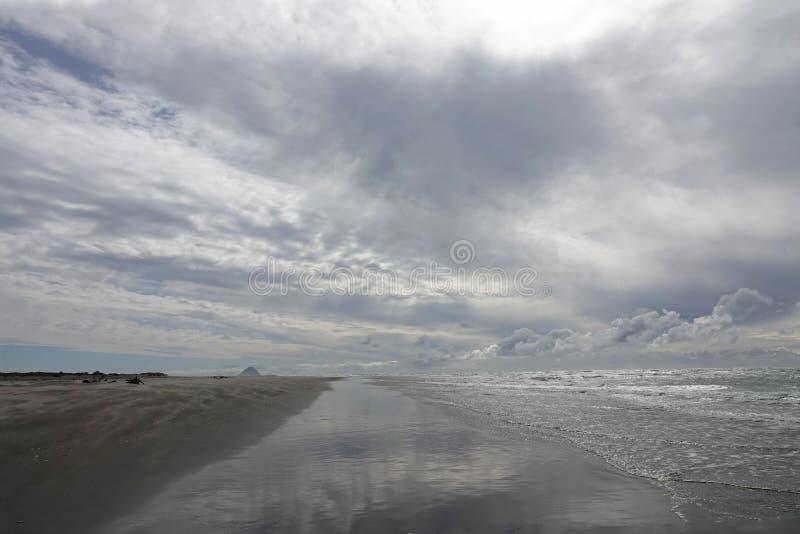 Ohope plaża w Whakatane, Nowa Zelandia obrazy stock