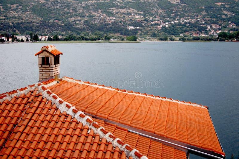 ohrid македонии стоковое изображение