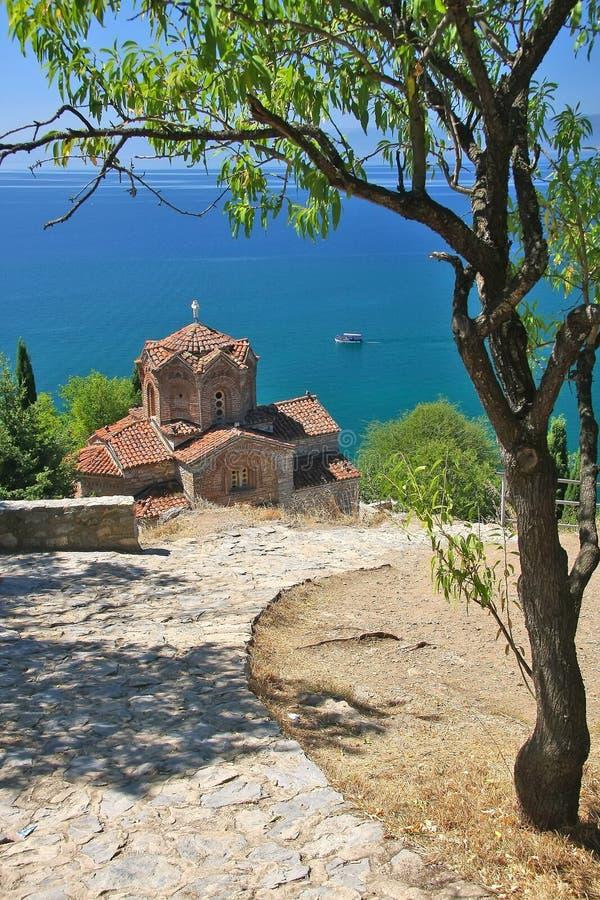 Ohrid, македония стоковое фото rf