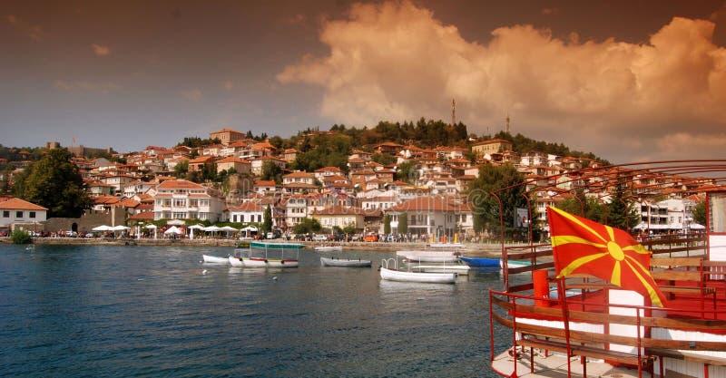 Ohrid Lake, Macedonia. Picture of a Ohrid Lake, Macedonia royalty free stock photo