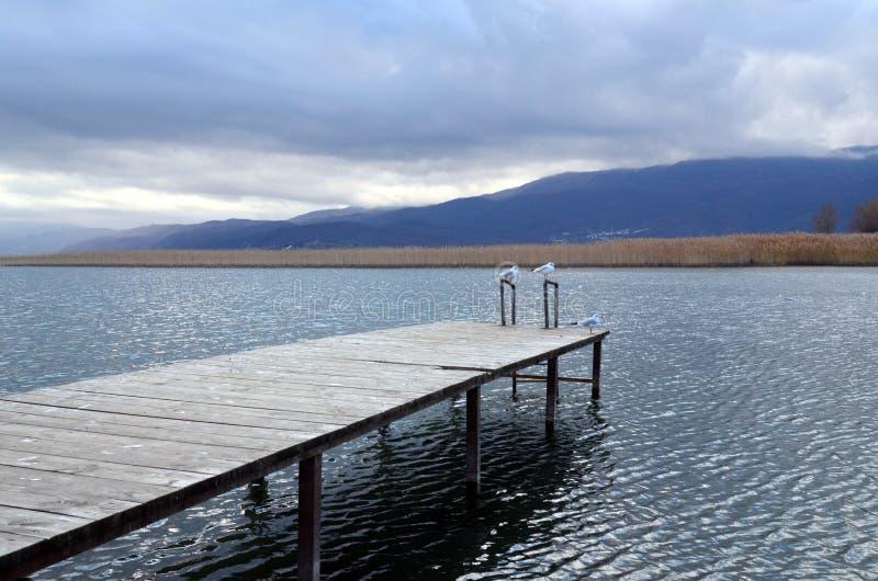 Ohrid Lake, Macedonia. Picture of a Ohrid Lake in Macedonia royalty free stock photos
