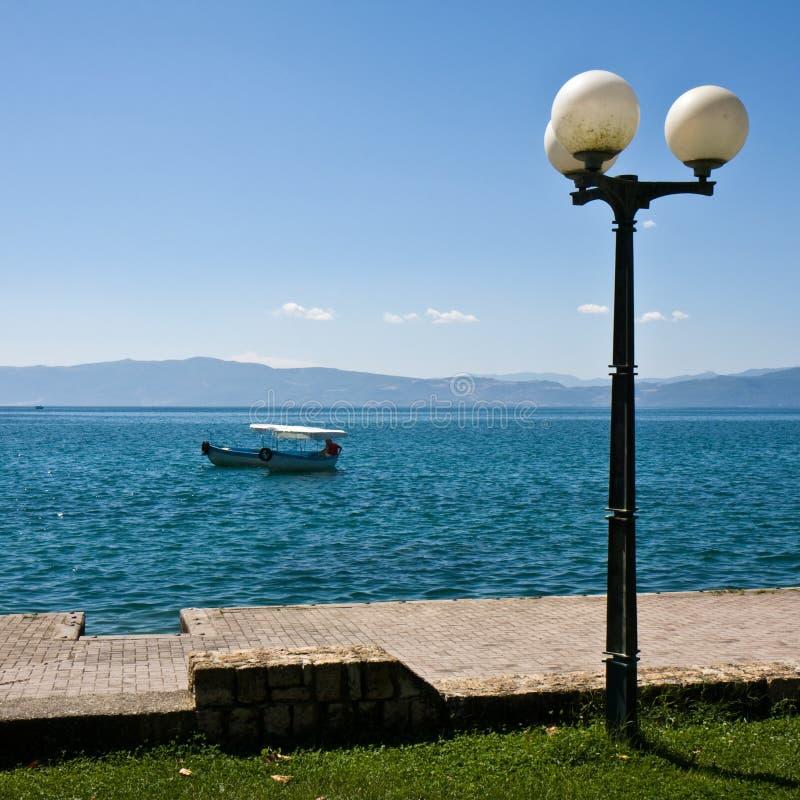 Ohrid Lake Scene royalty free stock photography