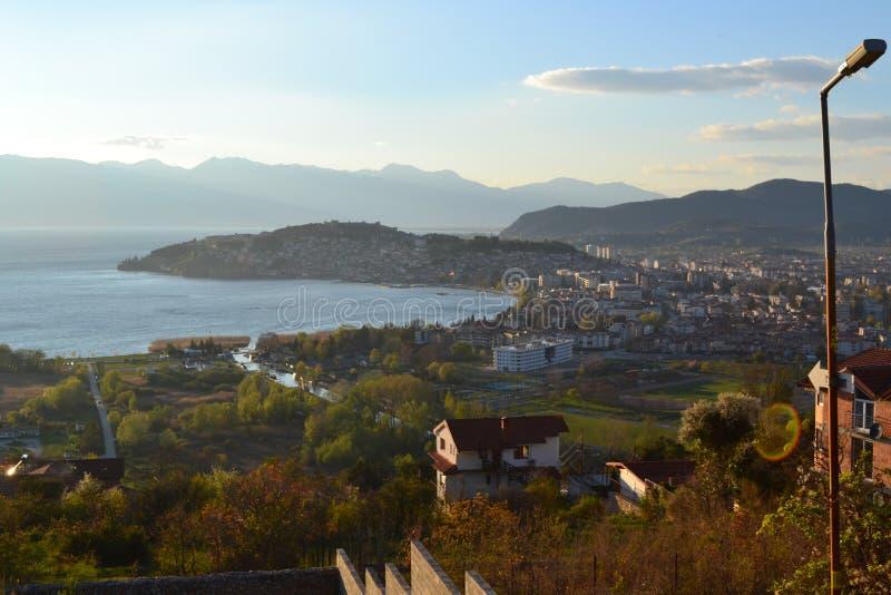 Ohrid, macedônio imagem de stock