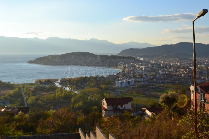 Ohrid, Macedoński obraz stock