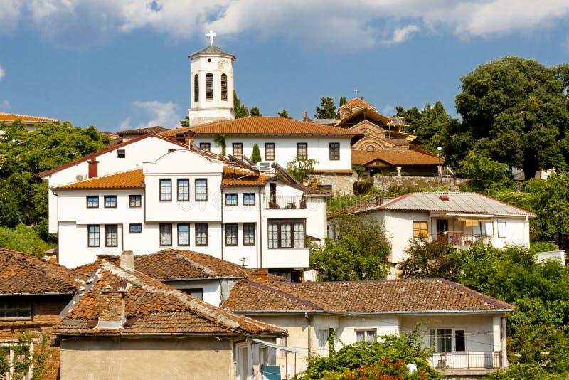 Ohrid miasteczko - Macedonia obrazy stock