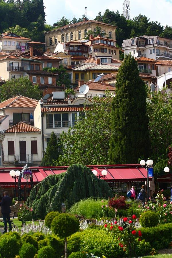 Ohrid Stary miasto, Macedonia obraz stock