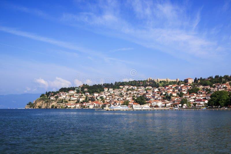 Ohrid w Macedonia fotografia royalty free