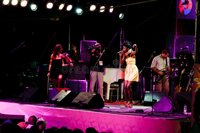 Download Oi Va Voi, Jazz Koktebel Festival 2009 Editorial Image - Image: 18963220