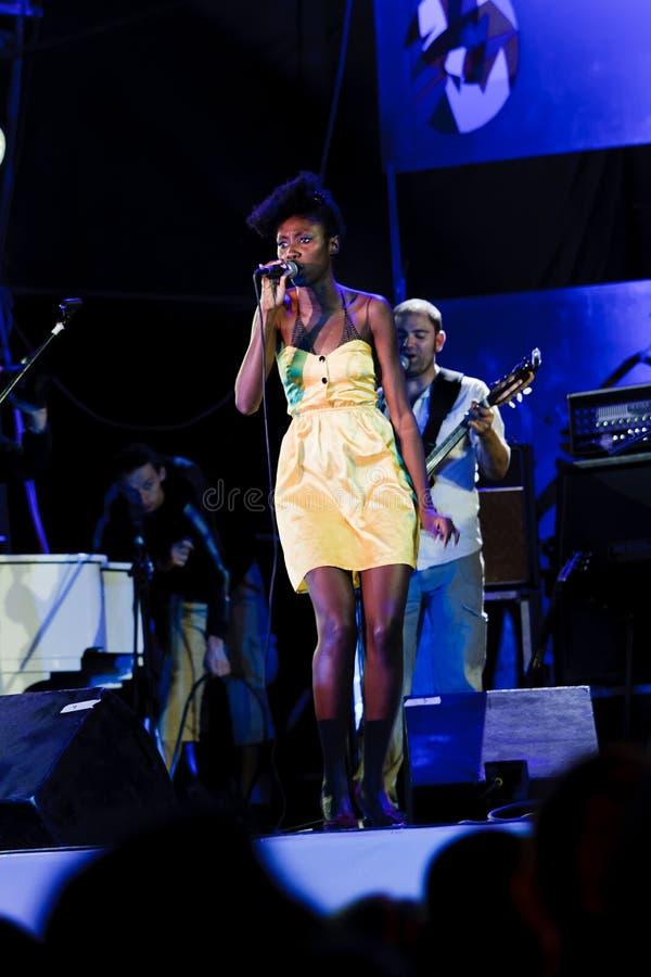 Oi VA Voi, Jazz Koktebel Festival 2009 stockbild
