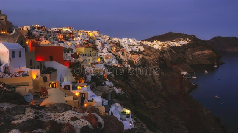 Oia -圣托里尼-希腊 免版税图库摄影