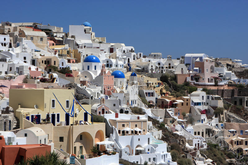 Download Oia stock photo. Image of buildings, hotel, culture, architecture - 16863878