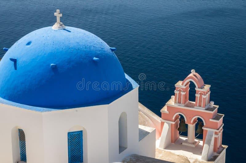 Download Oia-Dorf, Inseln Santorini Cyclade, Griechenland Stockfoto - Bild von kuppel, romantisch: 96930540