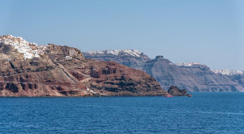Oia - ilha de Santorini Cyclades - Mar Egeu - Grécia foto de stock royalty free