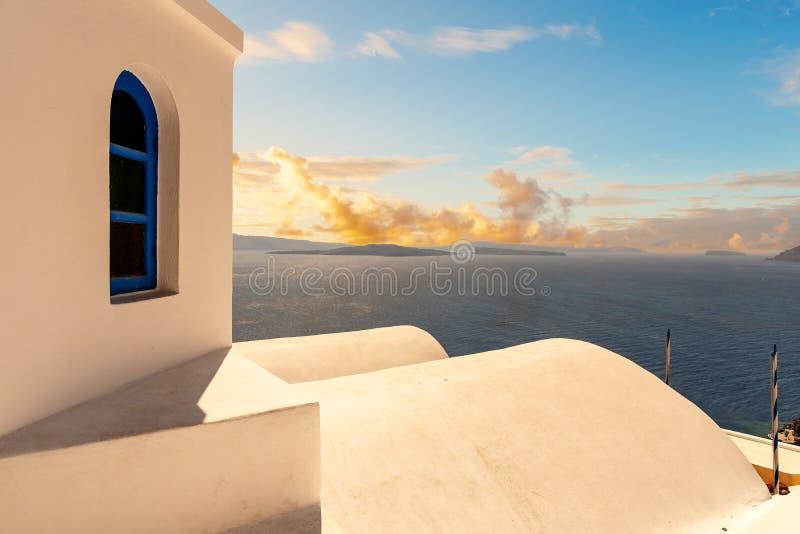 Oia - ilha de Santorini Cyclades - Mar Egeu - Grécia fotos de stock royalty free