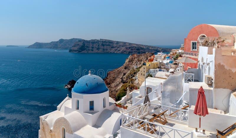 Oia - ilha de Santorini Cyclades - Mar Egeu - Grécia fotos de stock