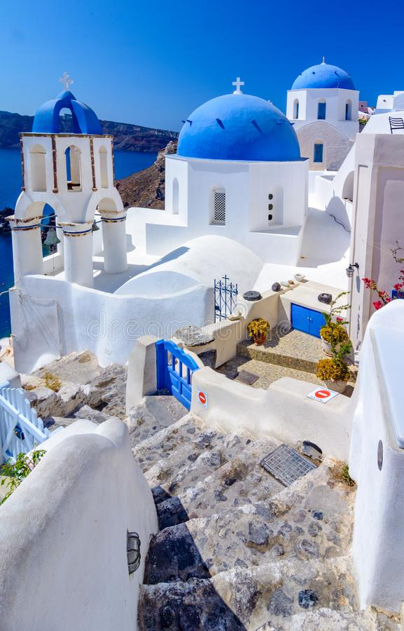 Download Oia, Isla De Santorini, Grecia, Europa Imagen de archivo - Imagen de egeo, hermoso: 100535665