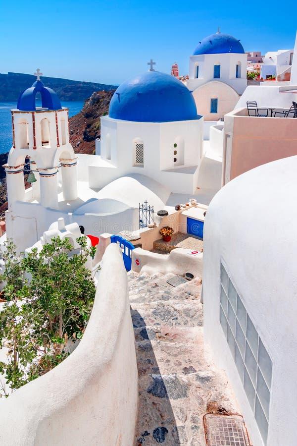 Download Oia, Isla De Santorini, Grecia, Europa Imagen de archivo - Imagen de verano, frialdad: 100535783