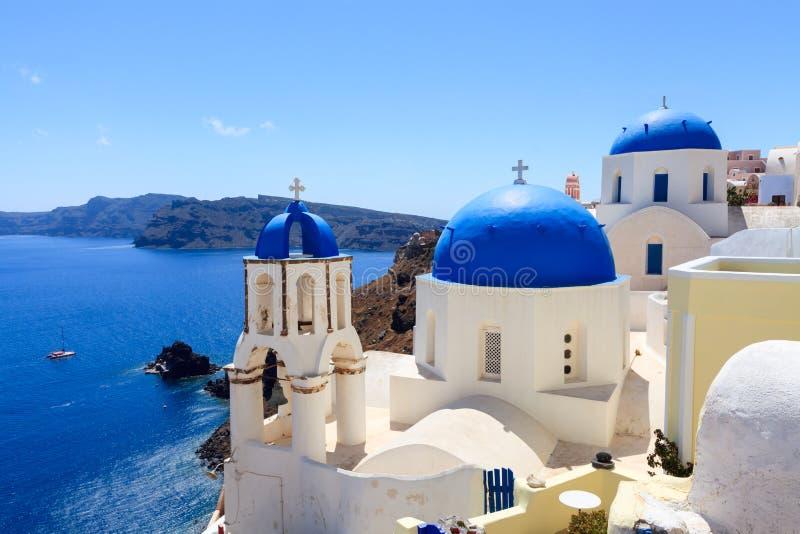 Oia Santorini Греция Европа стоковые изображения