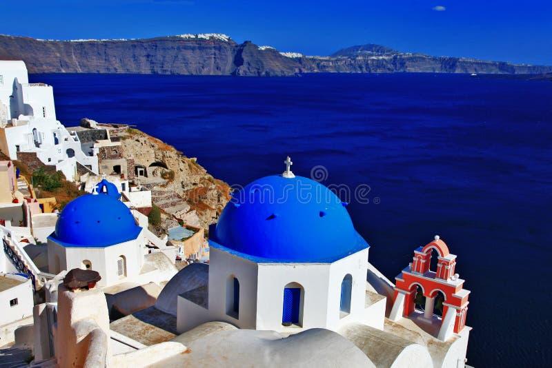 Oia, Santorini, Греция стоковые изображения