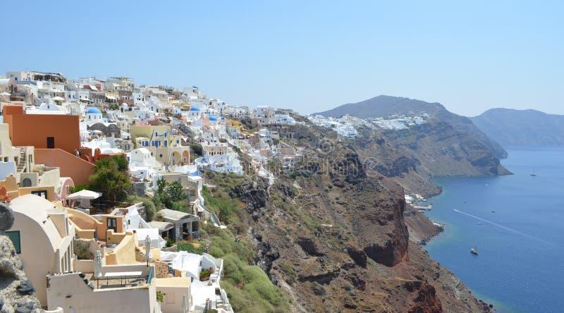 Oia Santorini royaltyfri foto