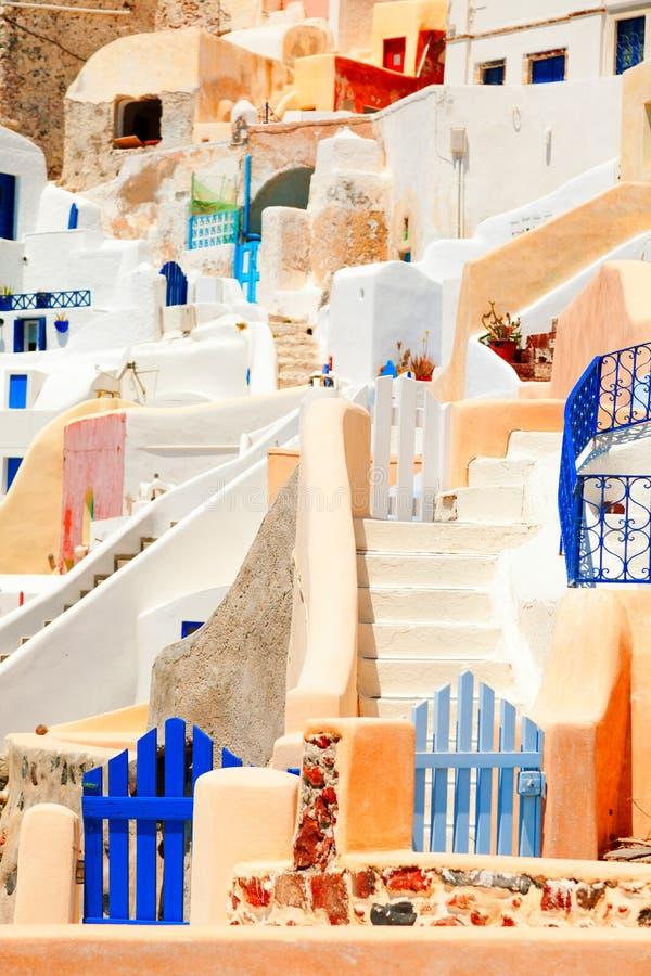Oia, Santorini imagen de archivo libre de regalías