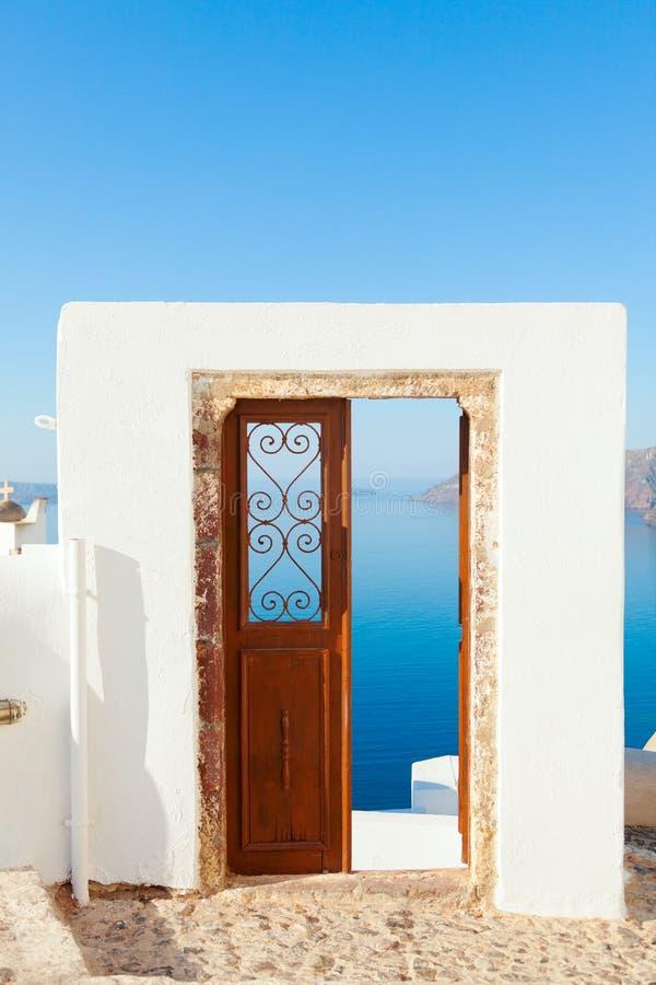 Oia, Santorini image libre de droits