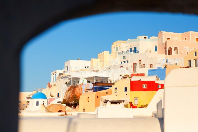 Oia, Santorini imagenes de archivo