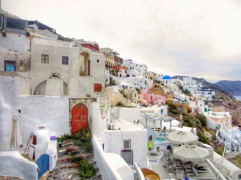 Oia Santorini imágenes de archivo libres de regalías