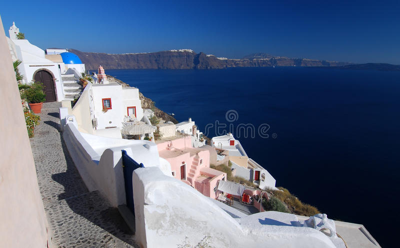Oia Santorini, Cyclades, Greece foto de stock royalty free