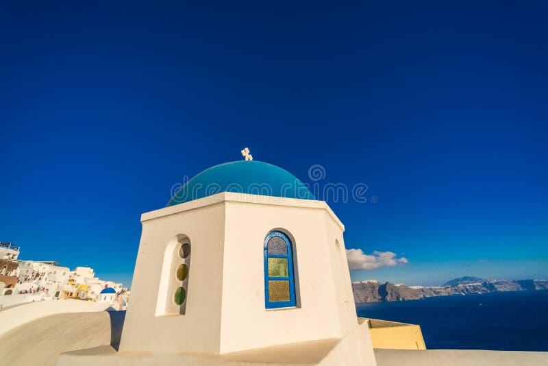 Oia santorini Greece. Beaut greece island oia wonderful fantasy nice heaven blue stock photo