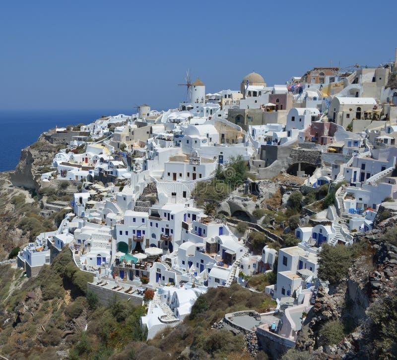 Oia Santorini royalty free stock images