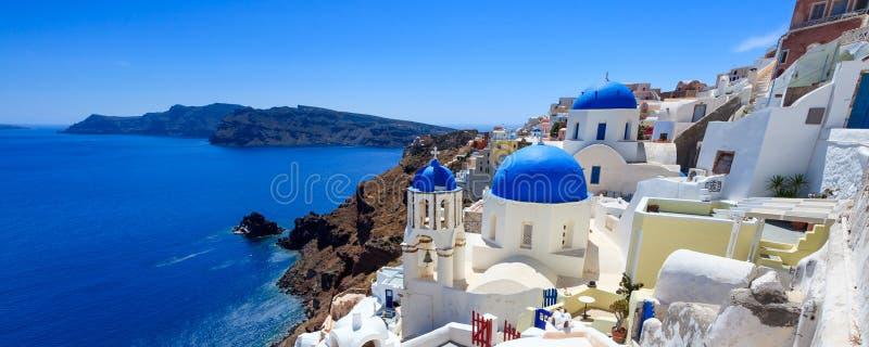 Oia Santorini Griekenland Europa royalty-vrije stock fotografie