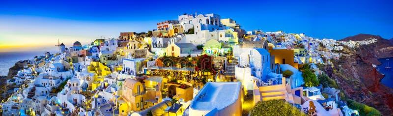 Oia, Santorini island, Greece, Europe stock photo